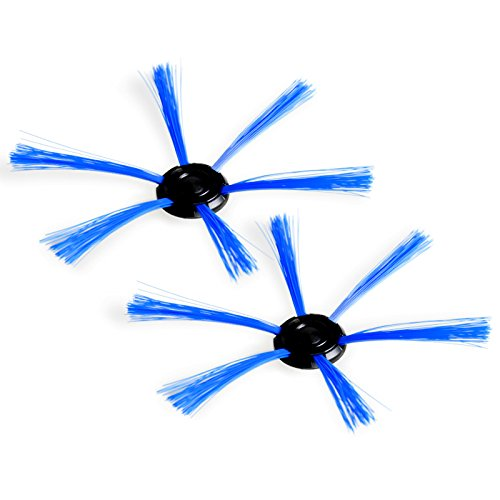 Cikuso 2pzs Cepillo Lateral para aspiradora Philips FC8700/FC8710/FC8820/FC8810, Cepillo barredora Inteligente Kit Limpiador de Repuesto