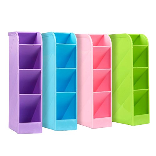 Caddy Classroom Supply Holder, 16 Compartments (4 Pack)