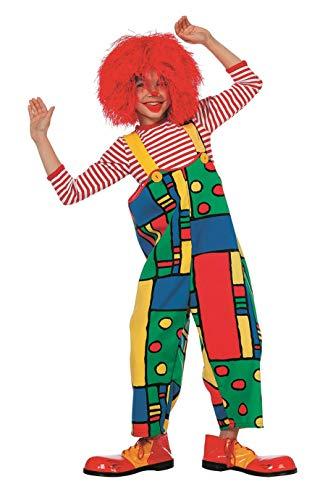 The Fantasy Tailors - Disfraz de Payaso para niños, Pantalones de Payaso,, arcoíris, Carnaval, tamaños
