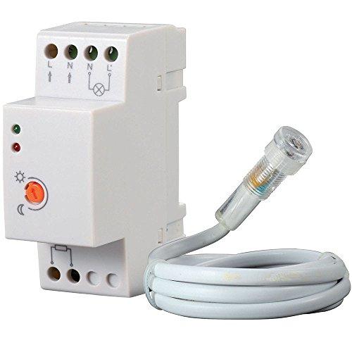 Interruttore Crepuscolare da Quadro Elettrico Modulo Din Bravo 93003202
