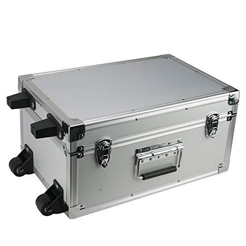 ROC Cases Trolley Silver Flight Case (L440xW300xH220mm)