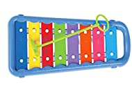 🎵 SUPERIOR QUALITY – High quality design from musical toy experts Halilit ensures optimum safety, fantastic sound quality and durability to withstand even the most active children from 12 months+ 🎵 CHILD SAFE – The note bars are safely tucked away fr...