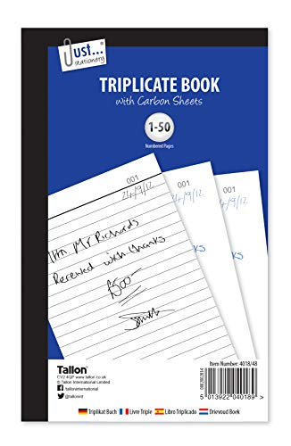 Gewoon briefpapier volledig formaat drievoudig boek Notebook