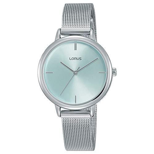 Lorus Reloj Analógico-Digital para Unisexo de Cuarzo con Correa en Resina RG291QX9