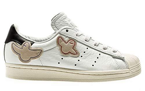 adidas Skateboarding Superstar ADV x Gonz, Footwear White-core Black-Chalk White, 7,5