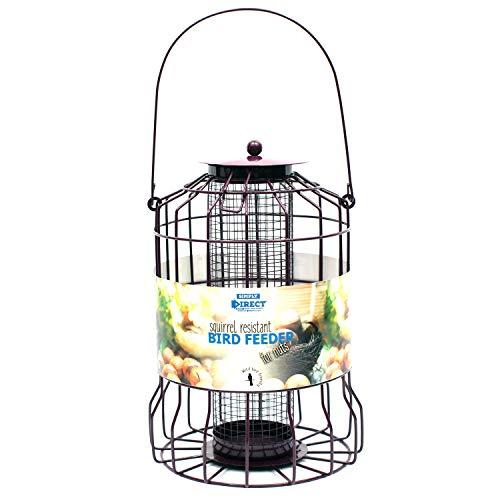 simply direct 1 x Alimentador de Tuercas Resistente a Las Ardillas para Aves Silvestres de Jardín