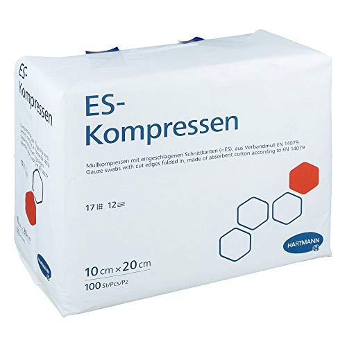 ES-Kompressen Unsteril 10x20 cm 12fach, 100 St