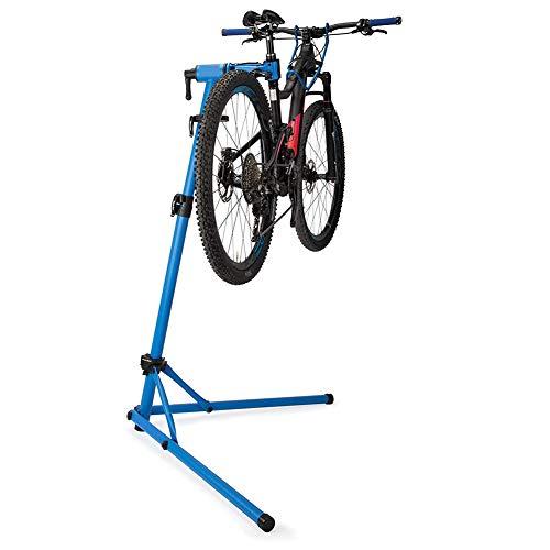 JooGoo Montaje De Bicicleta,Soporte De Reparación De Bicicletas con Portaherramientas Marco, Reparación De Bicicleta Altura Ajustable Y Plegable, Puede Soportar 30 Kg