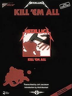 Best metallica kill em all tab Reviews