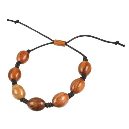 Holzschmuck Armband Armreif Olivenholz Geschenk TPwood Frauen
