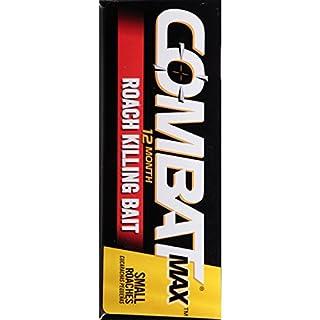 سعر Combat Max 12 Month Roach Killing Bait, Small Roach Bait Station, Child-Resistant, 18 Count