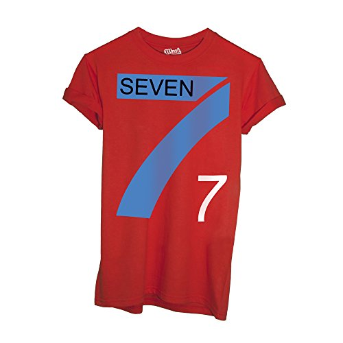 MUSH T-Shirt Seven Fighter Volley Cartoon - Cartoon by Dress Your Style - Donna-S-Rossa