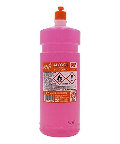 SAI Alcool Denaturato, 90 Gradi - 90 ml
