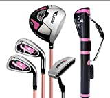 FORIDE Womens Golf Club Set Complete Right Handed Golf Club Set with Golf