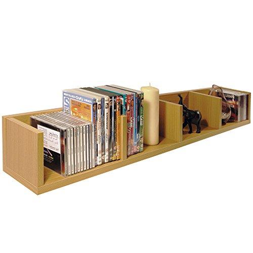 WATSONS Virgil - CD/DVD wandplank - beuken