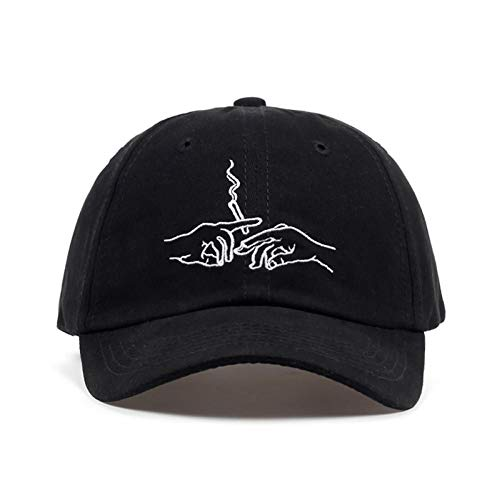 YPORE Baseballmütze Smoke Embroidery Baseball Cap Kart Driver Caps Men Women Hip Hop Golf Hat Bone Garros Fashion Dad Hats