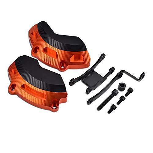 JIAL Rigt Linke Motorgehäuse Slider Schutz-Schutz for KTM 790 Duke 2018 2019 Duke790 Motorrad Zubehör Teile Motorschutz Robustes Material, (Color : Orange),Farbe:Orange ChongXxiang (Color : Orange)