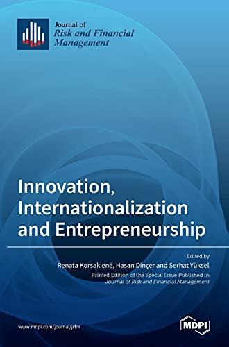 Innovation, Internationalization and Entrepreneurship