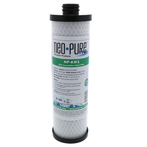 WaterPur KW1 Replacement RV Water Filter by Neo-Pure NP-KW1