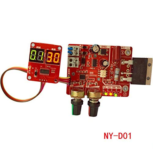 PlayJuly Spot Time Point Welding NY-D01 100A Digitales Display und aktueller Panel-Controller, Stil 1