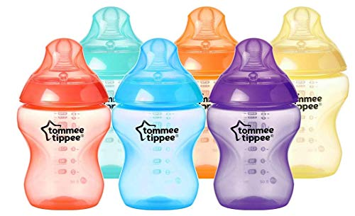 Tommee Tippee Biberones Closer to Nature, 260 ml, 6 unidades, multicolor