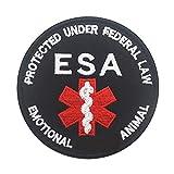 Medical Alert Do Not Distract Pet Therapy Service Dog Vests/Harnesses Emblem Embroidered Fastener Hook & Loop Patch (ESA)