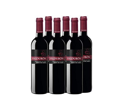 Valdubon Cosecha Vino Tempranillo Ribera de Duero - 750 ml - Pack de 6 botellas - 4500ml