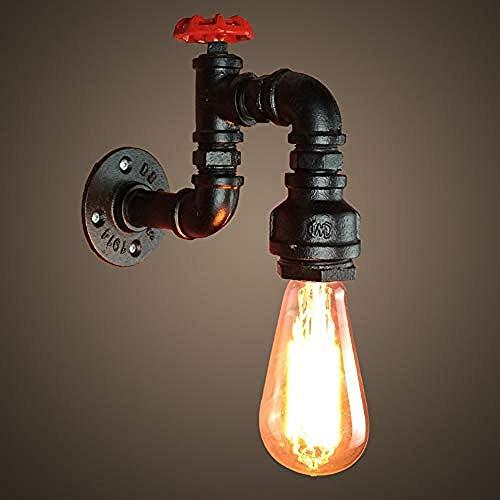 N / A E27 Vintage lámpara de Pared de tubería de Agua...