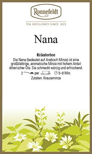 Ronnefeldt - NaNa Minze - geschnitten - Kräutertee 50g