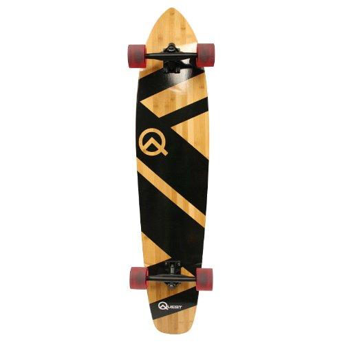 Great Deal! Quest Skateboards Best 44 Bamboo Super Cruiser Longboard Skateboard