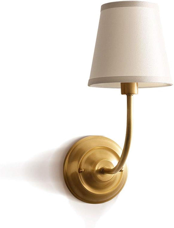 BEDKING E14 Mode Alle Bronze Wandleuchte Kreative Taschenlampe Dekoration Studie Lampe Küche Korridor Schlafzimmer Nachttischlampe Persnlichkeit Einfache Wandleuchte