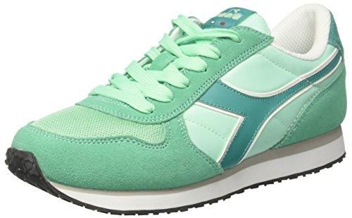 Diadora Damen K-Run W Sneaker Low Hals, Grün (Verde Opale/Verde Columbia), 39 EU