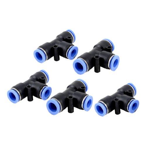5 Stück Air Pneumatik 3 Ways 12 mm bis 12 mm T Geformte Schnelle Gemeinsamen Push In Beschläge de