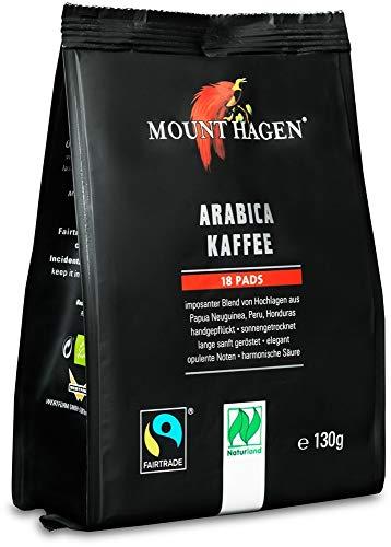 Mount Hagen Bio Kaffee Pads 18x7g (6 x 130 gr)