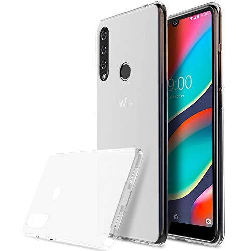 iBetter für WIKO View3 Pro Hülle, Soft TPU Superdünn Cover [Slim-Fit] [Anti-Scratch] [Shock Absorption] passt für WIKO View 3Pro Smartphone