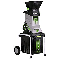 professional Earthwise GS70015 15 Amp Garden Electric shredder, trash can