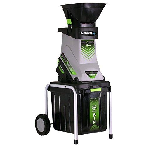 Earthwise GS70015 15 Amp Electric Garden Chipper/Shredder