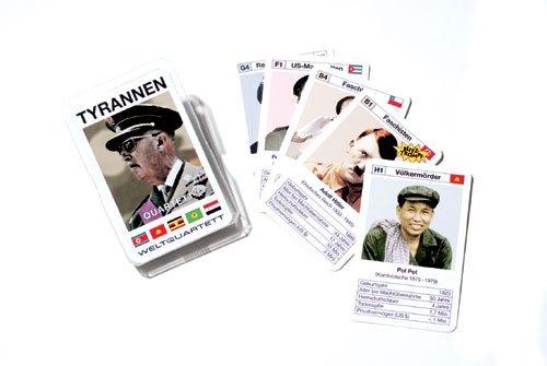 Unbekannt Kartenspiel Quartett Tyrannen