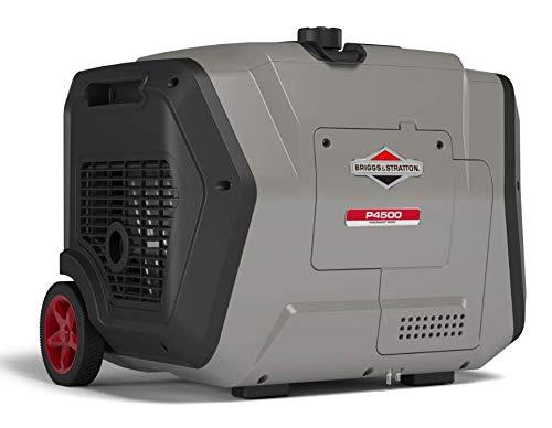 Briggs & Stratton P4500 PowerSmart Series Inverter Generator, Electric Start, Powered by Briggs & Stratton Engine