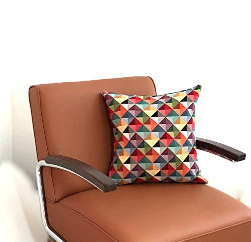kante II Kissen geometrisches, abstraktes Muster Kissenbezug, Sofakissen Quadratisch, Rechteckig von 40 x 40cm bis 60 x 60cm