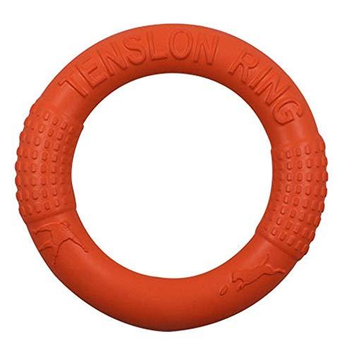 ATEZIEU Hundespielzeug Ring Wasser Floating, Tiertraining Frisbee Molars Zahnreinigung Spielzeug, Outdoor Fitness Flying Discs, Tug of War Interactive Training Ring für Hunde