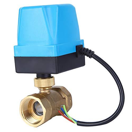Válvula de control de flujo Válvula de 2 vías Válvula de bola de estructura de precisión para sistema de calefacción para calefacción por suelo radiante(G1', pink)