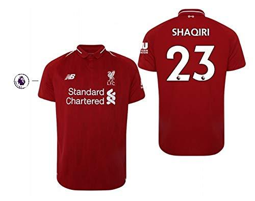 FC Liverpool Trikot Herren 2018-2019 Home PL - Shaqiri 23 (XL)