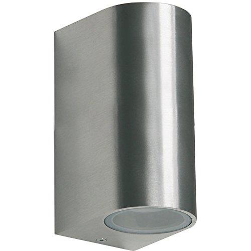 Grafner® Aluminium Außenleuchte Wandlampe Up and Down Aussenlampe 2x GU10 IP44 37WB-2