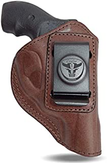 Cardini Leather - for Ruger LCR 38 Special - Concealed Carry - Inside the Waistband - IWB with Clip