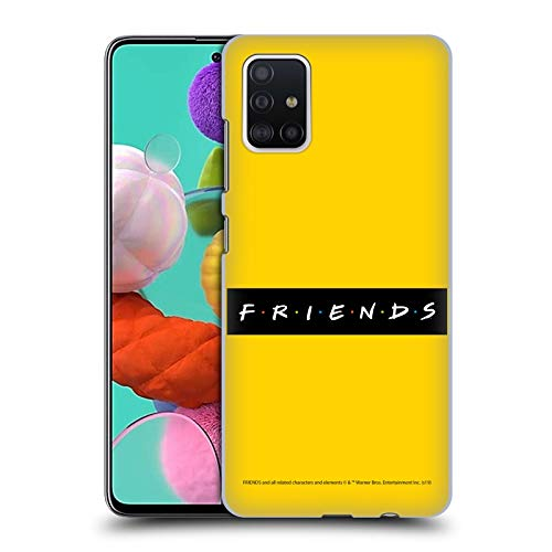 Head Case Designs Licenciado Oficialmente Friends TV Show Patrón Logotipos Carcasa rígida Compatible con Samsung Galaxy A51 (2019)