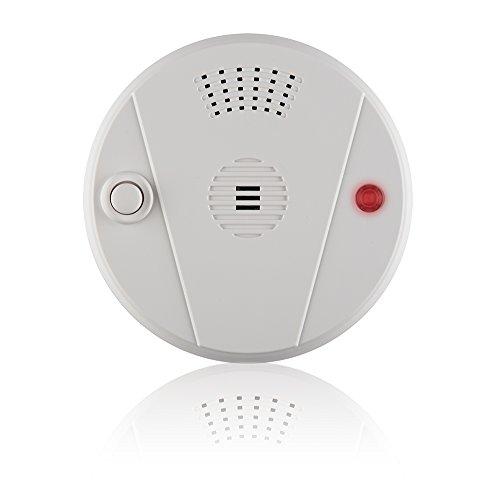 Blaupunkt Funk-Hitzemelder HD-S1 I Zubehör für Blaupunkt Alarmanlagen I Hausalarm I Brandmelder I Hitzewarnmelder für Küchen, Bad, Keller, Garage I Integrierte Sirene 96 dB I 1 Stück I Weiß