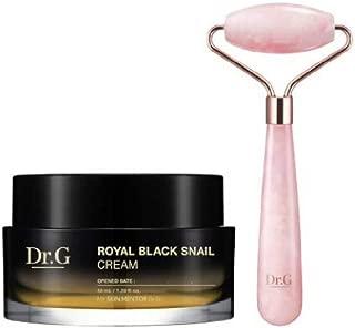 [Sale+Gift] Dr.G 2019 Royal Black Snail Cream 50ml+Roller Massager Special Set