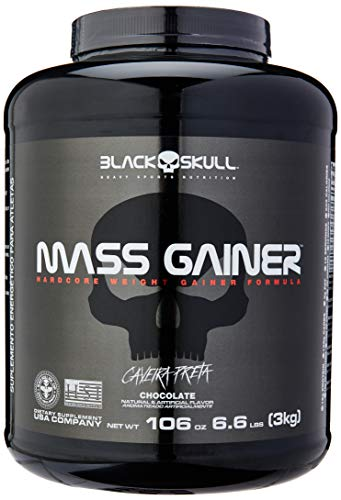 Mass Gainer - 3000g Chocolate, Black Skull