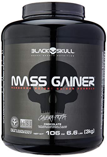 Mass Gainer - 3000g Chocolate, Black Skull